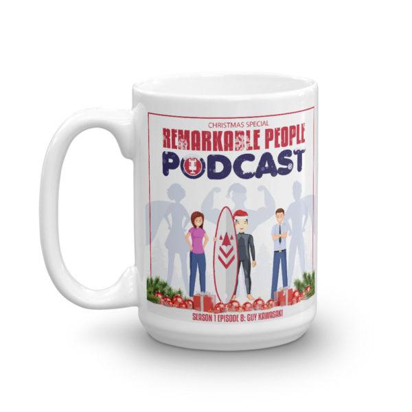 Remarkable People Podcast Guy Kawasaki Collectors Mug