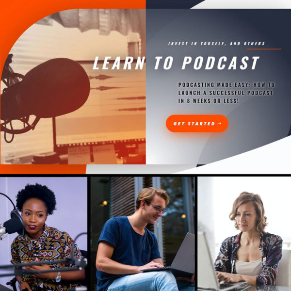 How-to-Launch-a-Successful-Podcast-in-8-Weeks plus coaching