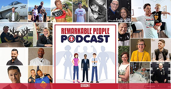 Remarkable People Podcast Season 1 Guests and Episodes v Facebook