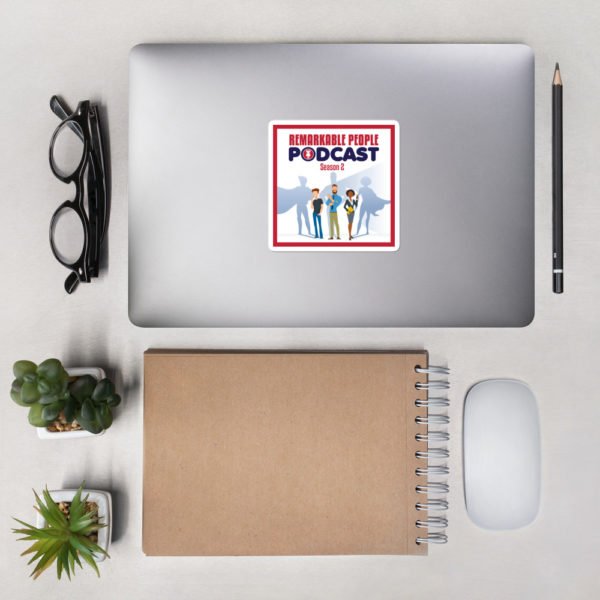 Remarkable People Podcast Sticker