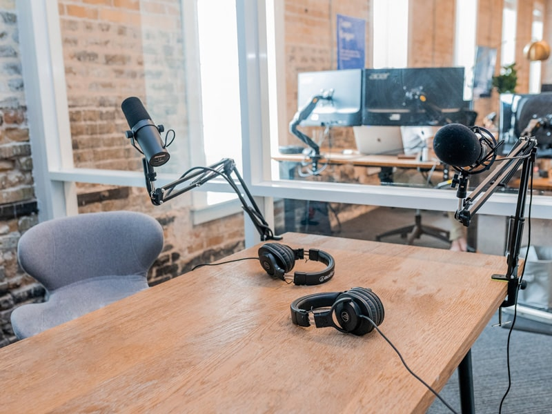 Using a podcast to build professional credibility